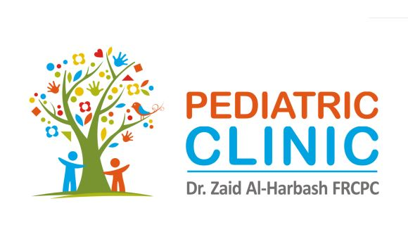 Dr. Zaid Al-Harbash Pediatric Clinic Logo