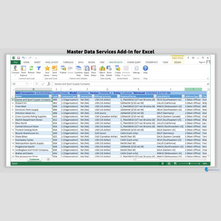 MDS Add-on for Excel