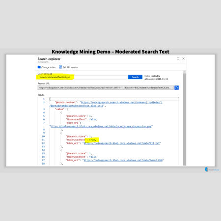 Moderated Search Terms